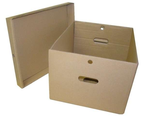 Caixa de papelão para transporte