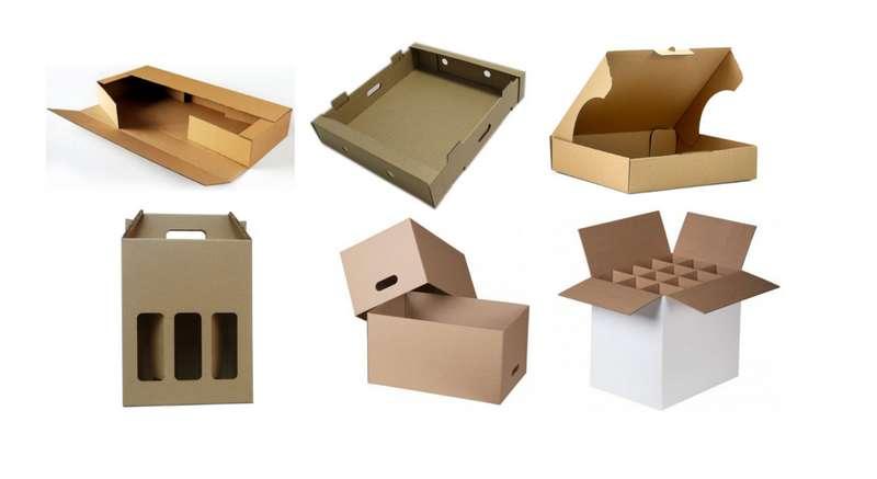 Empresa de caixa de papelão