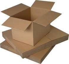 Venda de caixas de papelão