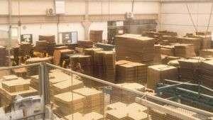 Venda de caixas de papelão sp