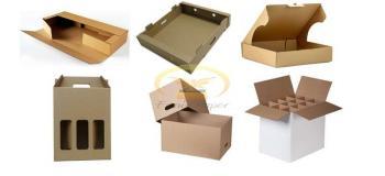 Caixa corte e vinco personalizada