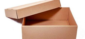Caixa de papelão direto da fabrica