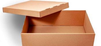 Caixa de papelão fabricação