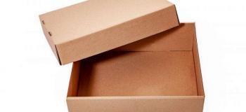 Caixa de papelão personalizada grande