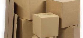 Caixas de papelão para entrega