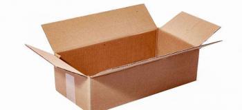 Fabricação de caixa de papelão